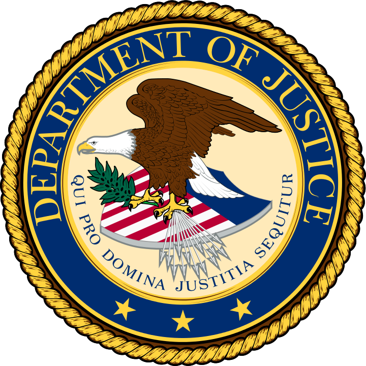 Department of Justice agency seal