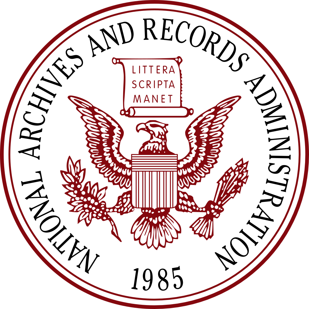 National Archives and Records Administration agency seal
