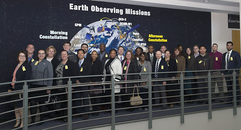 The 2015-2016 CXO Fellows class at NASA Goddard Space Flight Center on April 5, 2016.